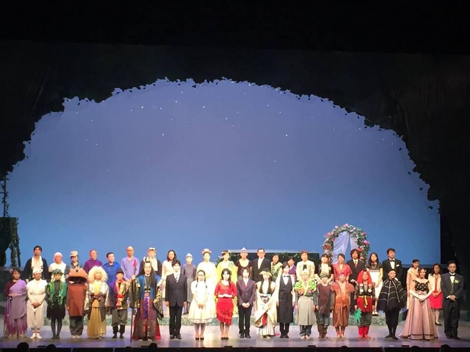 2016年度芸術創造センターの演劇アカデミー「月と森のソネット」劇団そらのゆめ